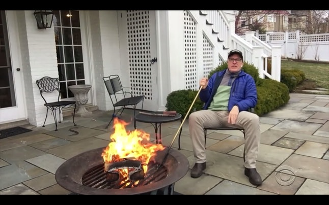 The man has a freakin' fire pit. A king among jesters!!