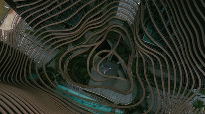 Marina One in Singapore was where Westworld Season 3's Incite is set.