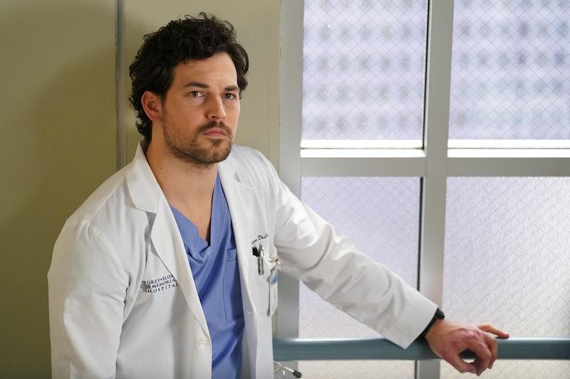 Dr. Andrew DeLuca (Giacomo Gianniotti) on 'Grey's Anatomy'