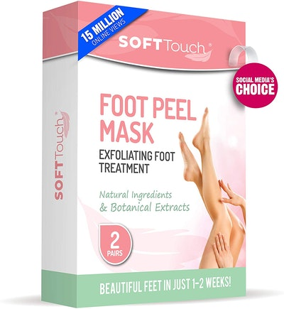 Soft Touch Foot Peel Masks (2 Pairs)