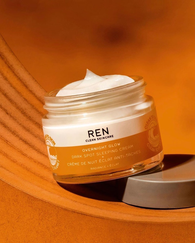 REN Clean Skincare's Overnight Glow Sleeping Cream was a major new skincare launch in March 2020
