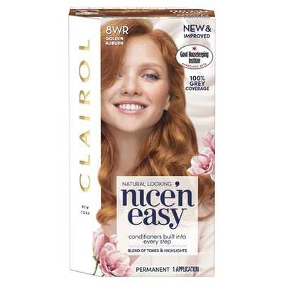 Clairol Nice n Easy Permanent Hair Dye 8WR Golden Auburn