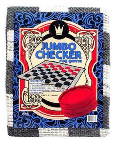 Checkers Rug Jumbo