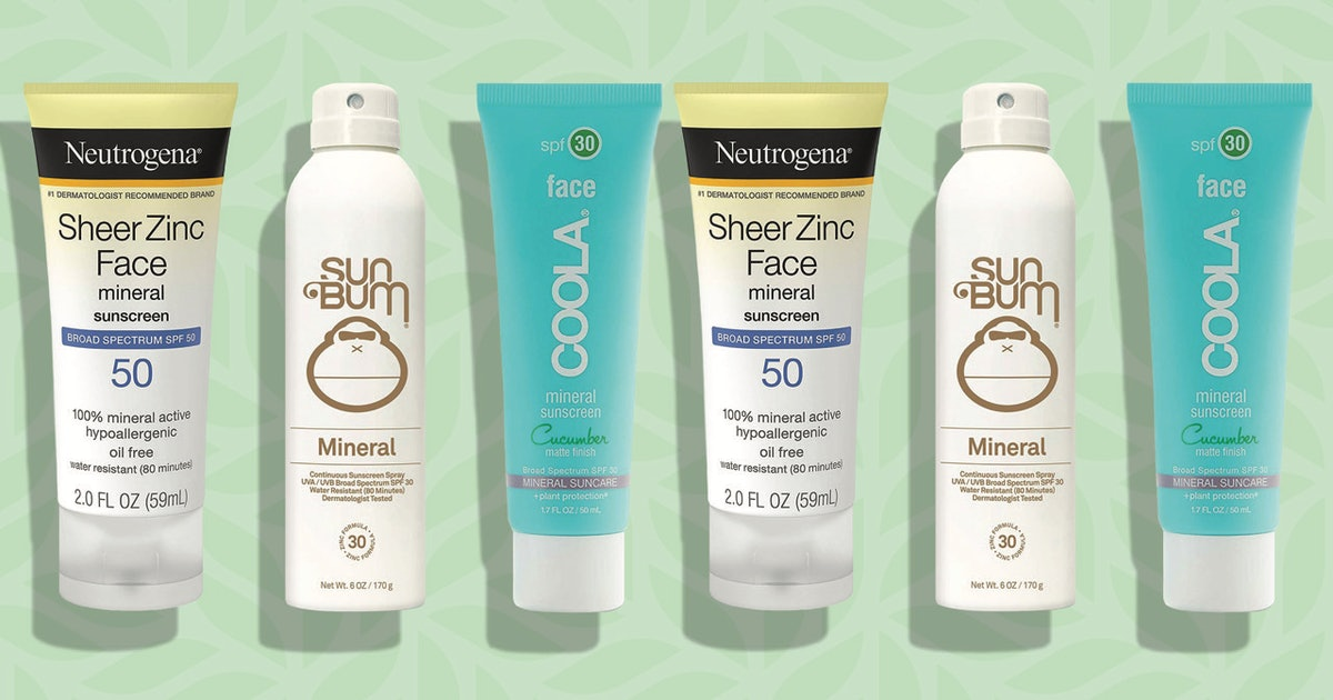 A Derm's Guide To Mineral Sunscreens — Plus The Best Ones You Can Buy On Amazon