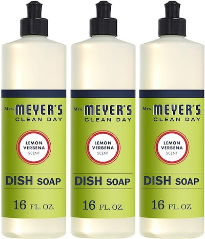 Mrs. Meyer's Clean Day Liquid Dish Soap (3-Pack)