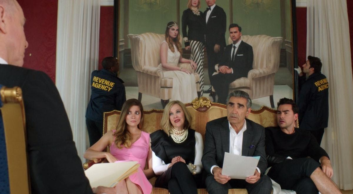 'Schitt's Creek' still from the premiere episode