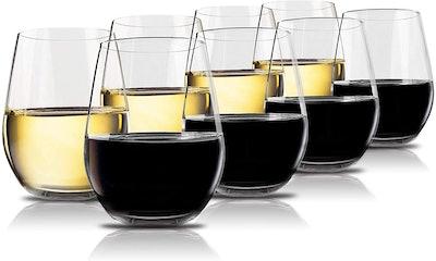 Vivocci Unbreakable Wine Glasses