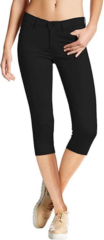 HyBrid & Company Ultra Stretch Capri Pants