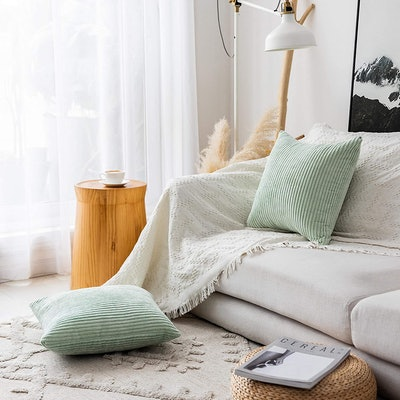 Home Brilliant Throw Pillow Covers (2-Pack)