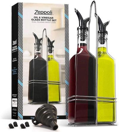 Zeppoli Oil And Vinegar Bottle Set (17 Oz. Each)