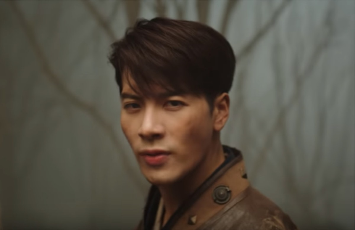 """A screenshot from Jackson Wang's """"100 Ways"""" music video. Jackson Wang's """"100 Ways"""" lyrics will convince you he's the only thing you need."""