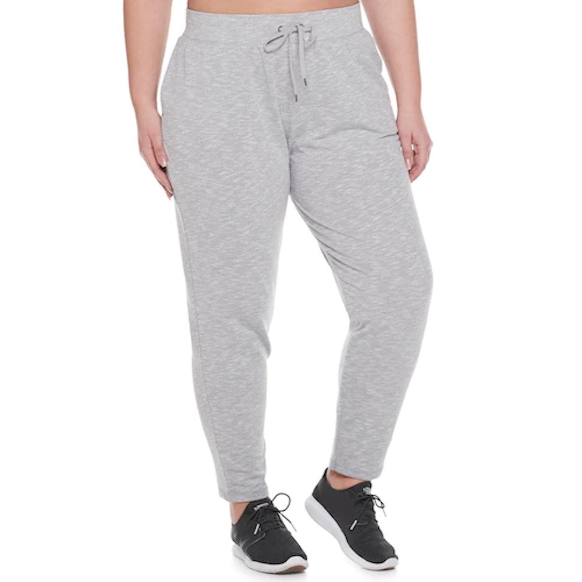 Plus Size Tek Gear French Terry Workout Pants