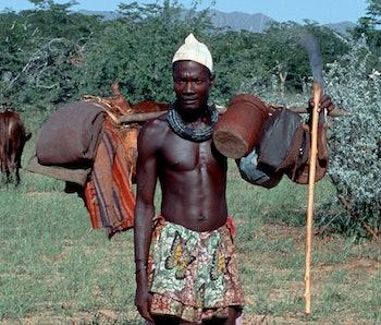 Himba herders.
