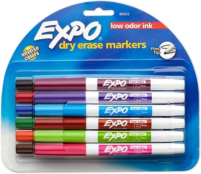 EXPO Low Odor Dry Erase Markers (12-Pack)
