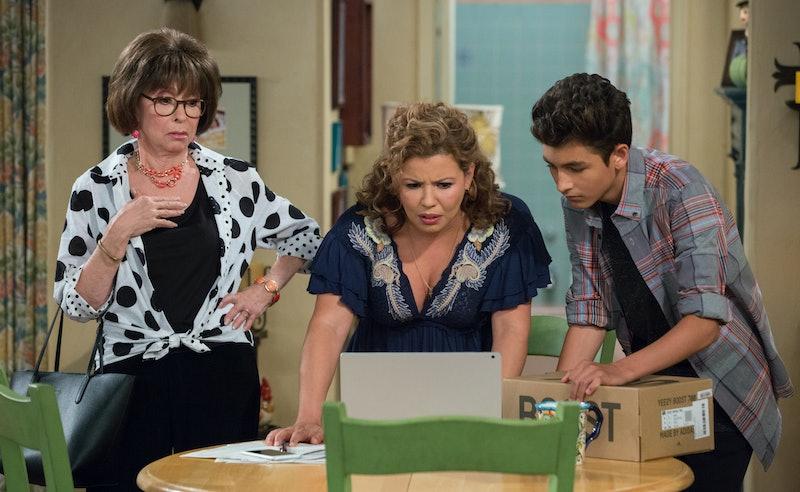 Rita Moreno, Justina Machado, and Marcel Ruiz in 'One Day at a Time'