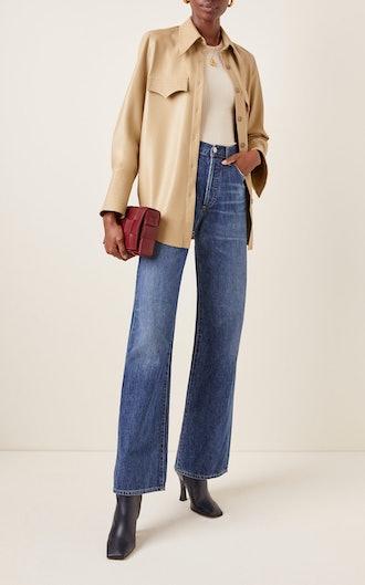 Annina Rigid High-Rise Bootcut Jeans