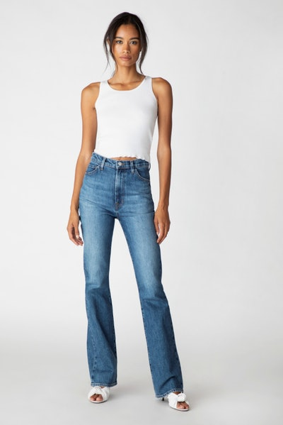 Runway High-Rise Boot Cut Jeans
