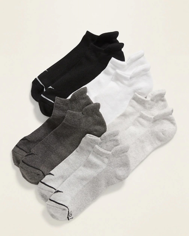 Old Navy Athletic Ankle Socks 5-Pack for Women