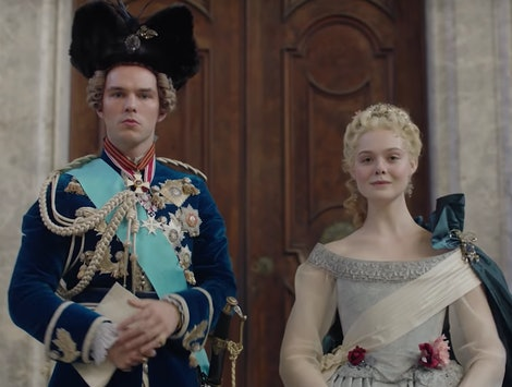 Elle Fanning's 'The Great' Trailer Satirizes Catherine The Great's Rise