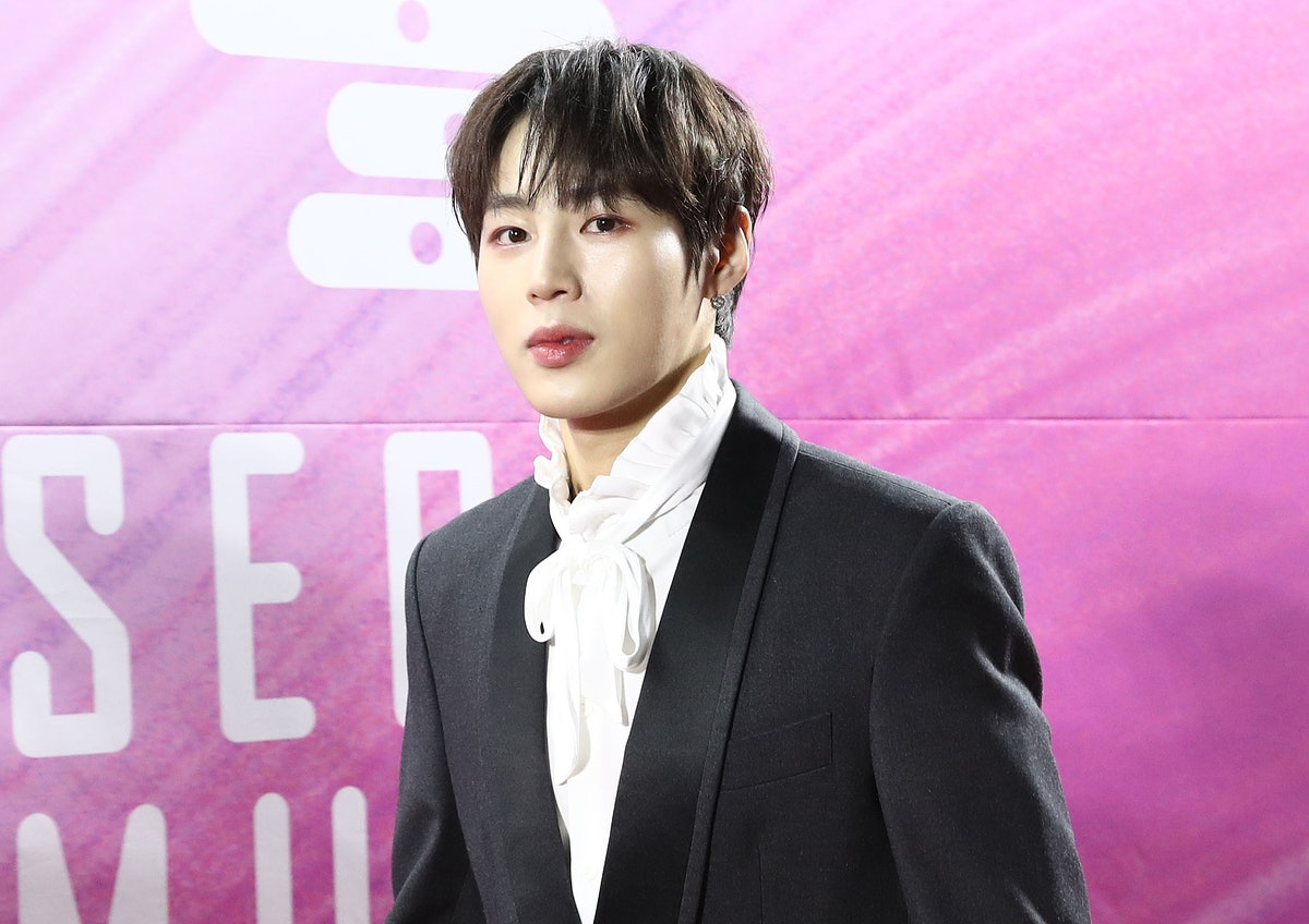 BTS' friends outside of the group include Wanna One's Sungwoon.