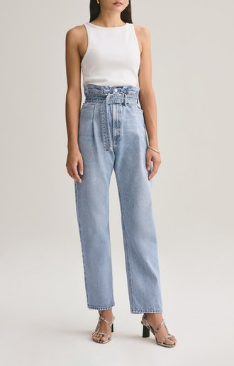 Reworked '90s High-Rise Straight Jeans