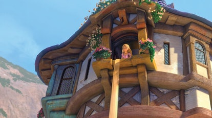 Rapunzel in Tangled