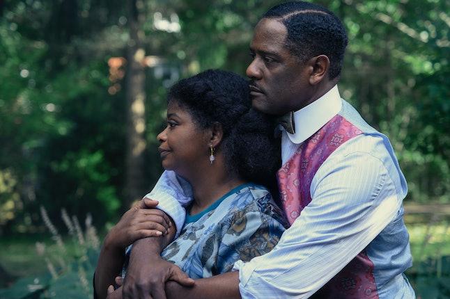 Madam CJ Walker  and  her husband  were a good team for a time.