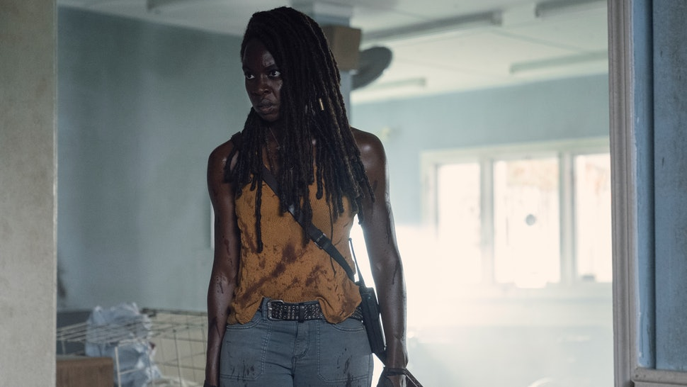 Michonne's final Walking Dead episode provided clues to Rick's whereabouts.