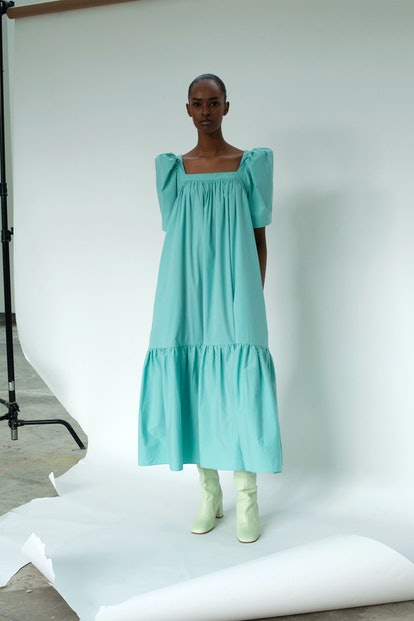 Mr. Larkin Ode Dress Seafoam