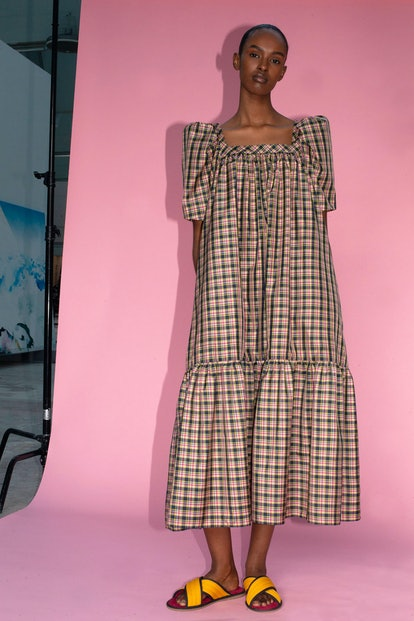 Mr. Larkin Ode Dress Plaid