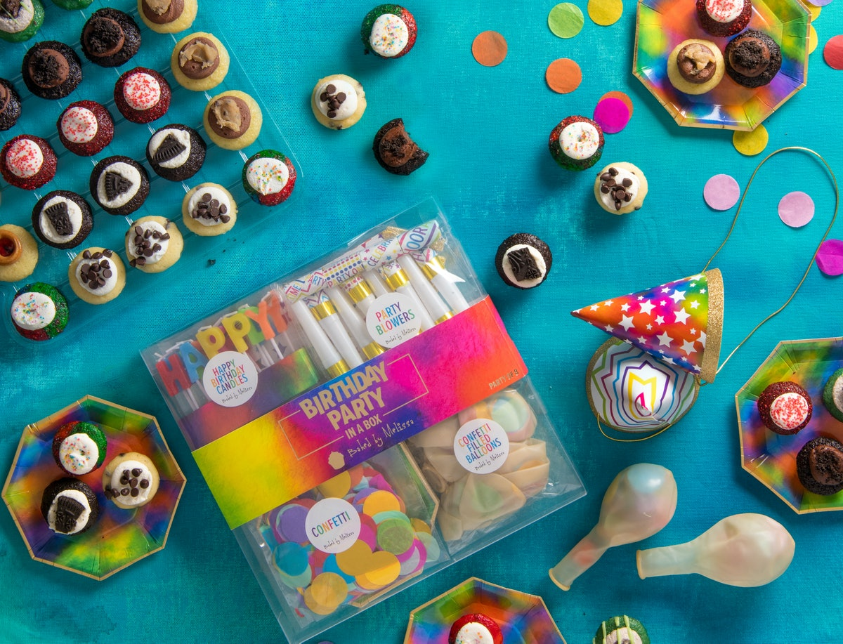 Baked By Melissa's free birthday cupcakes giveaway in 2020 features 25 bite-sized cupcakes.