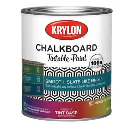 Krylon Tintable Latex Chalkboard Paint