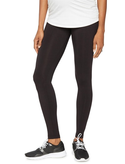 Luxe Essentials Secret Fit Belly Ultra Soft Maternity Leggings