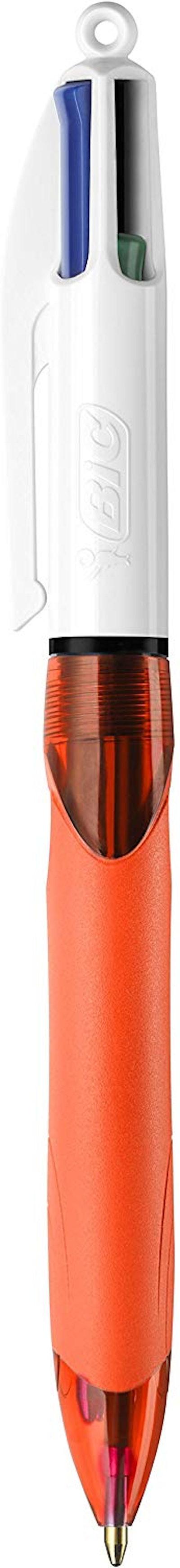 BIC 4-Color Grip Ballpoint Pen (3-Pack)