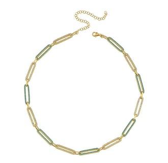Pave Chain Link Choker