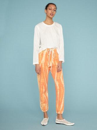 Orange Athletic Sweatpant