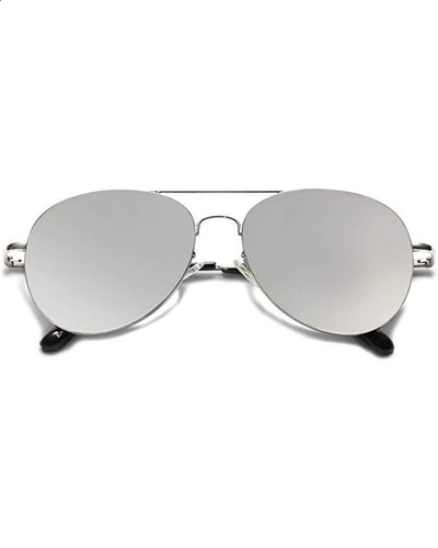 SOJOS Classic Metal Aviator Sunglasses
