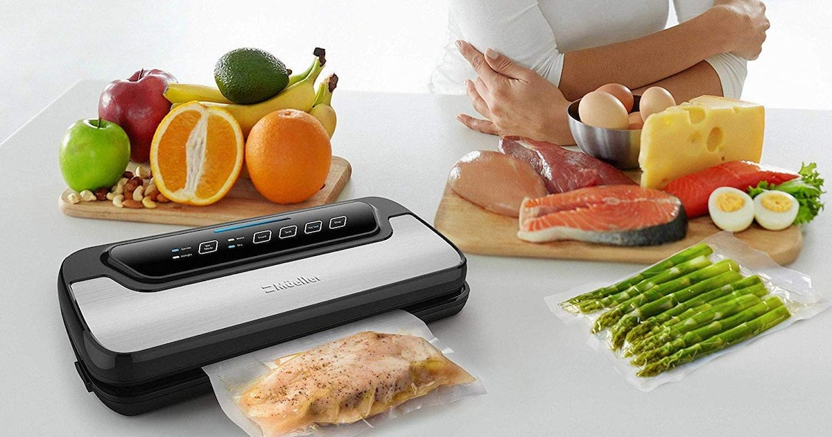 A $34 Vacuum Sealer That'll Fit On Small Counters & 3 More Of The Best Models To Buy On Amazon