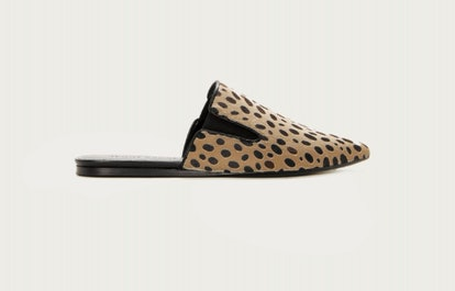 Cheetah Pony Hair Mule