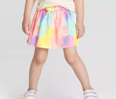 Cat & Jack Toddler Girls' Tie-Dye Skort