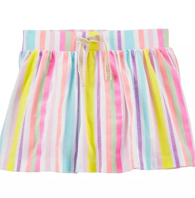 Rainbow Stripe Skooter Skirt