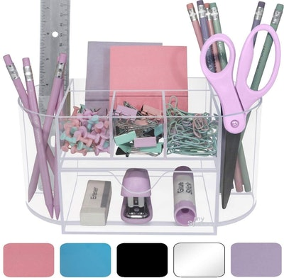 My Space Organizers Acrylic Desk Organizer for Office Supplies