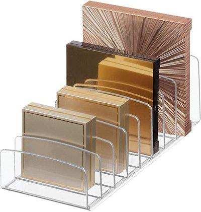 Clarity Vertical Plastic Palette Organizer