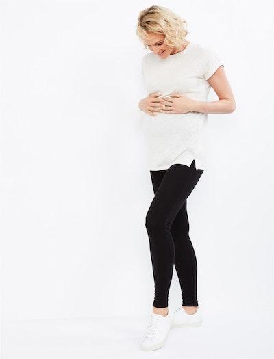 Splendid Secret Fit Belly French Terry Maternity Leggings