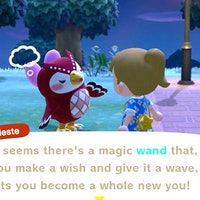 'Animal Crossing: New Horizons' Star Fragments: Find Celeste and get a Magic Wand