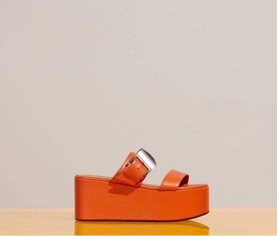 Coaster Platform Sponge Orange