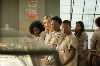 Danielle Brooks, Taylor Schilling, Vicky Jeudy, and Samira Wiley in Orange Is the New Black