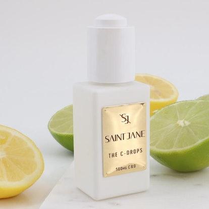 Saint Jane's new C-Drops in bottle.