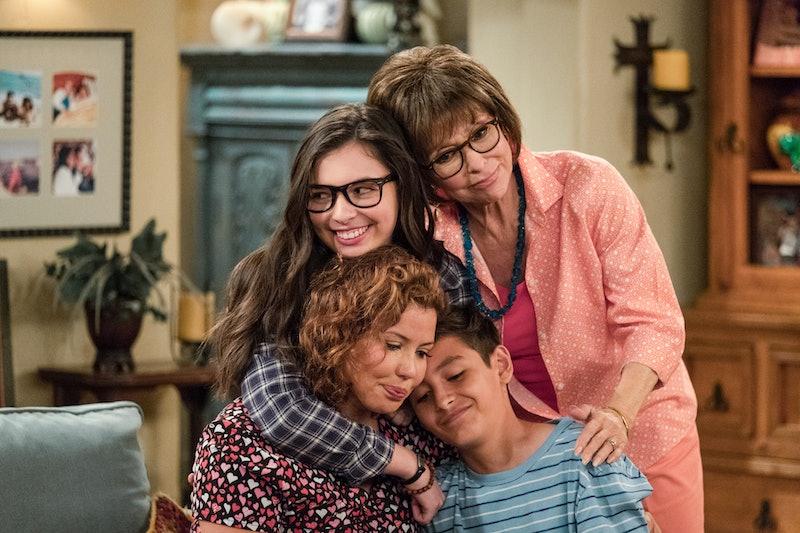 Justina Machado, Isabella Gomez, Rita Moreno, Marcel Ruiz  in ODAAT Season 1
