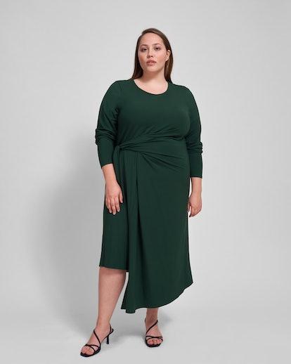 Dina Side Tie Bamboo Blend Dress
